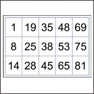 printable 90 number bingo cards