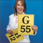Giant bingo calling cards A4 size