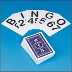 jumbo sized bingo calling cards 10cm wide by 15cm high