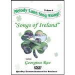 Melody Lane Songs of Ireland singalong dvd