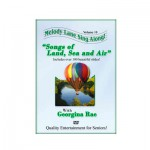 Melody Lane Sing Along DVD - Songs of Land, Sea and Air