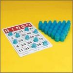 3D bingo counters