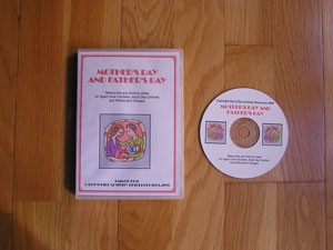 Mothers and Fathers Day Manual of Activities on CD