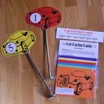 Car racing game kit