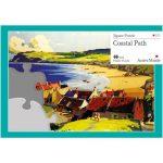 13 piece plastic jigsaw puzzle - Coastal Path