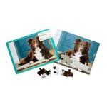 13 piece jigsaw puzzle - sheep dog