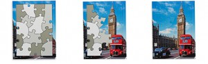 London Sights Puzzle - how it works