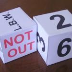 Dice Cricket Games printable dice