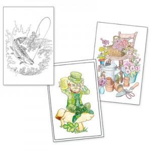 Adult Colouring Designs - Large Set 3