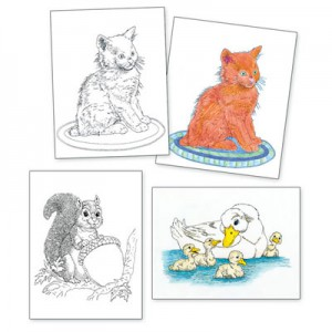 Adult Colouring Designs - Small Set 3