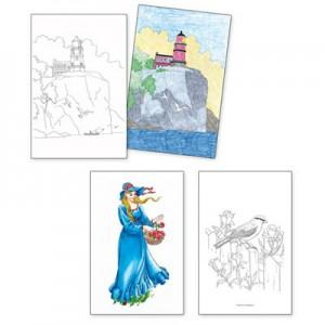 Adult Colouring Designs - Large Set 2