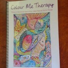 Colour Me Therapy book