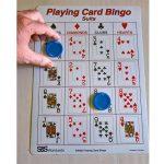 Playing Card Bingo card
