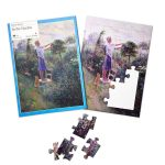 24 piece plastic jigsaw - In the Garden