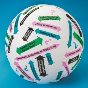 This or That? Conversation Ball