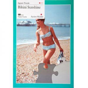 Bikini Sunshine 13 piece plastic jigsaw puzzle