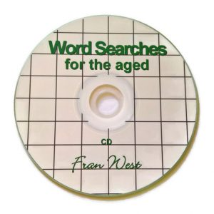 Word Searches for the Aged - CD