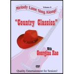 Melody Lane Country Classics singalong DVD