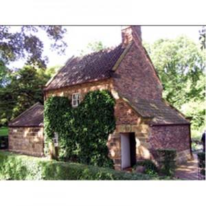 Captain Cook's Cottage jigsaw puzzle image