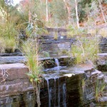 Karijini Outback Waterfall