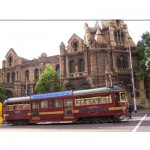Melbourne City Circle Tram 1 jigsaw puzzle image