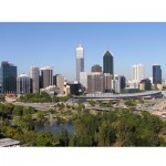 Perth skyline jigsaw puzzle image