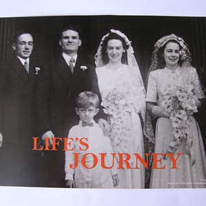 Reminiscence Pack - Life's Journey title page