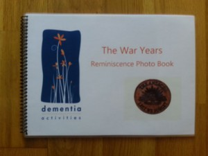 The War Years Reminiscence Picture Book