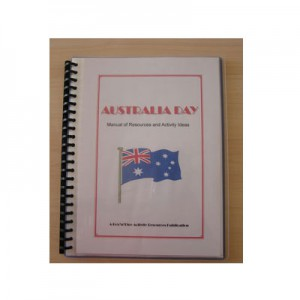 Australia Day Manual of Resources and Activity Ideas - hard copy
