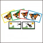 Downloadable Printable Steeplechase Game