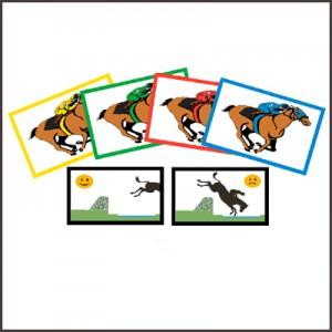 Downloadable Printable Steeplechase Game