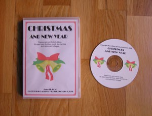 Christmas and New Year Manual of Activities on CD