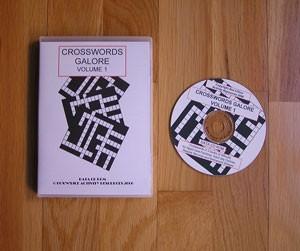 Crosswords Galore Volume 1 Manual on CD
