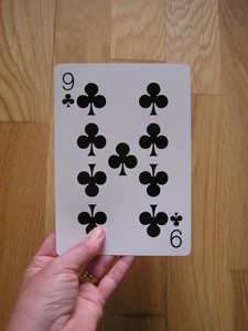 Jumbo Playing Card
