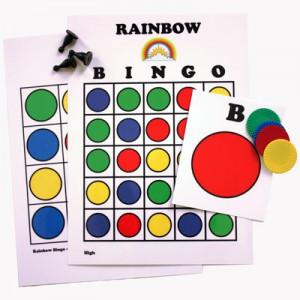 Rainbow Bingo Game