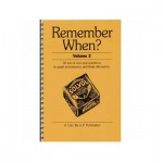 Remember When Volume 2 quiz book