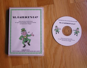 St Patrick's Day Manual of Activities on CD