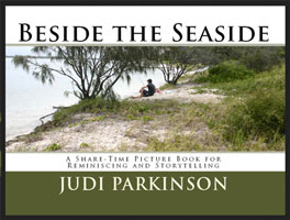 Beside the Seaside small nonverbal picture book