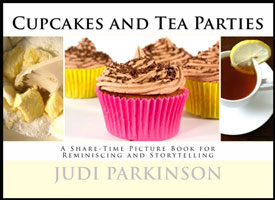 Cupcakes and Tea Parties small nonverbal picture book