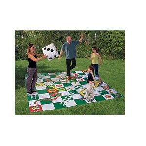 Giant Snakes and Ladders Floor Game