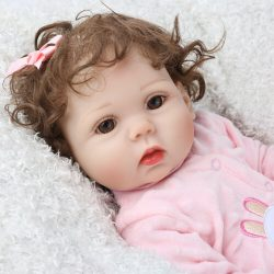 Full body doll - Miss Molly with brown eyes