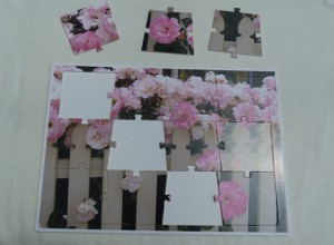 12 piece cardstock jigsaw