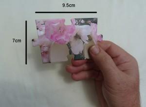 16 piece cardstock jigsaw piece size