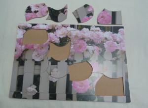 16 piece wood puzzle