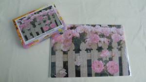 60 piece cardstock jigsaw (frameless but with box)