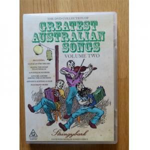 Greatest Australian Songs Volume 2 Sing Along DVD