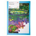 24 piece plastic jigsaw puzzle - Lilypond