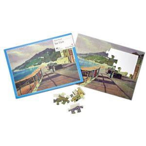 24 piece plastic jigsaw - Sea View