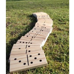 Giant Wood Dominoes