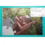 Wheelbarrow 13 piece plastic jigsaw puzzle
